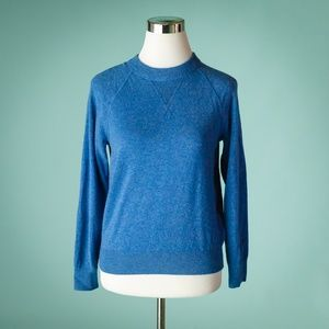 Everlane S Blue Cashmere Crew Neck Sweater